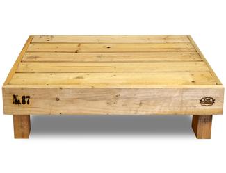 Muebles con palets en mueblesvintage for Sofa exterior madera