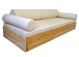 Muebles con palets en mueblesvintage for Sofa de exterior terraza