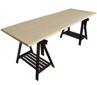 Mesas en mueblesvintage - Mesa con caballetes ...