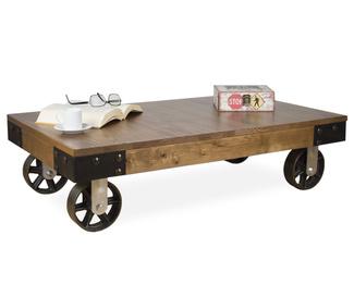 Mesas auxiliares en mueblesvintage - Mesas de centro con ruedas ...